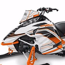 Arctic Cat Snowmobile Orange Sprint Hood Decal Wrap Kit C Listing 4 Fit 6639-751