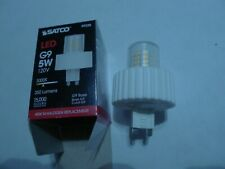 5W Satco S9227 T4 Replacement LED 5000K G9 Base Light Bulb