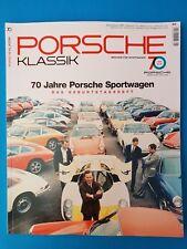 Porsche Klassik Sonderheft 70Jahre Magazin für Sportwagen UNGELESEN 1A abs. TOP