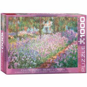 Eurographics 1000 Piece Jigsaw Puzzle Monet's Garden Claude Monet EG60004908
