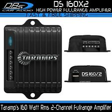 Taramps DS 160X2 Mini 2-Channel Car Audio Amplifier 160 Watts Rms Speaker Amp