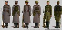 Belt Uniform Chest Rig Suspenders Original USSR Soviet Russian Army Size 1