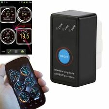 Bluetooth Adapter Scanner Torque Android OBD2 OBDII Code Reader Scan Tool LU