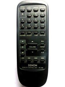 DENON CD PLAYER REMOTE RC-266 for DCD485 DCD635 DCD655 DCD685 DCD735 DCD735K