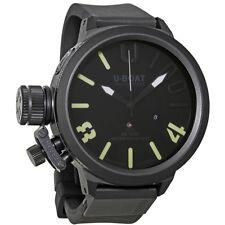 U-Boat Classico Black Dial Automatic Mens Watch 6077