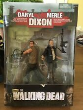 THE WALKING DEAD DARYL DIXON AND MERLE DIXON 2 PACK SERIES 4 NEW IN BOX 2013
