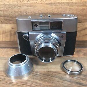 AGFA Super Silette 35mm Film Camera Lens Prontor-SVS Lens Hood & Filter