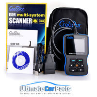 Creator C310 Multi System Scan Tool Engine fault code reader For BMW Diagnostic