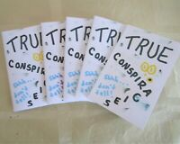 Limited Edition Collectible Outsider Pop Art Artist Zine - True Conspiracies