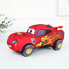 "Pixar Cars Lightning McQueen Gund Mini Plush Stuffed Toy Doll 95 Car 6""/16cm"