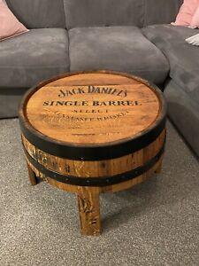 Coffee Table,  Oak Whisky Barrel Jack Daniels