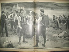 JOURNAL DES VOYAGES N° 743 SERBIE EPIDEMIE DE CHOLERA DESINFECTANT 1911