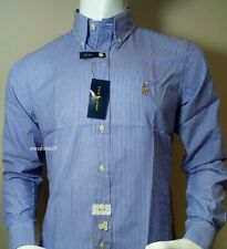 Men's Cotton Ralph Lauren Long Sleeve Shirt
