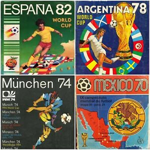 Full Collection -WORLD CUP - NOW ON OFFER  Panini Albums -in PDF- Soccer