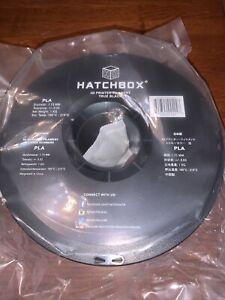 HATCHBOX ABS 1.75MM 3D Printer Filament - True Black - 1KG Spool