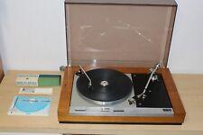 Thorens TD 125 Plattenspieler mit orig Stax Tonarm + Anleitung Langversion Top