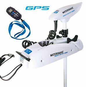 Watersnake Geo Spot 65/54 Remote Control GPS Bow Mount Electric Motor-65lb Thrus