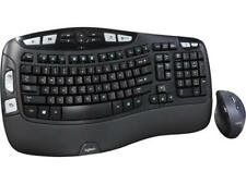 Logitech Recertified 920-008001 MK570 Comfort Wave Wireless Keyboard and Optical