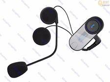 800m intercom Motorcycle Helmet BT Bluetooth Headsets FM Radio Skiing GPS phone