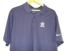Nike Golf Dri-Fit Concacaf Nations League Soccer Sh Sleeve Polo Shirt Blue 2XL