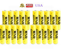 20pcs 18650 BATTERY 9800mAh 3.7v 18650 Rechargeable Li-ion Battery