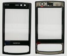 NOKIA RICAMBIO ORIGINALE NUOVO NOKIA N95 8GB FRONT COVER NERO ALTOPARLANTE