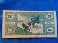 5 CENT MILITARY PAYMENT CERTIFICATE, SERIES 681  SUPER COOL VIGNETTES