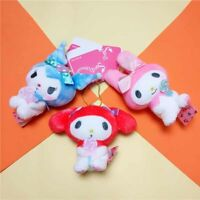 My Melody Toys Sanrio Kuromi Plush Stuffed Keychain Soft Doll Kids Girl Gifts 0