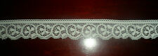 1.5meters x 2.5 CM WHITE elastic lace ribbon trim craft