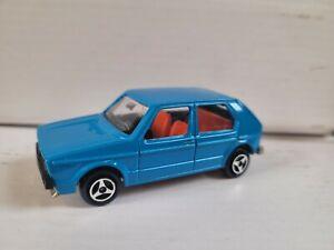 MAJORETTE 200 SERIES - VW GOLF [BLUE] EXCELLENT VHTF FRANCE COMBINED POSTAGE