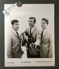Original 1960's 8 x 10 Publicity Agency Photo The Rip Chords Surf Rock & Roll