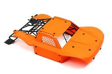 30 Degrees North DTT Big Flex Flexible Bodyshell Orange For Losi 5ive KM X2