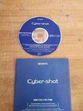 Sony Cybershot DSC T70 T75 T200 Handbook Application Software CD Rom Used