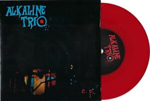 """Alkaline Trio """"EP Blue"""" 7"""" OOP /1000 The Lawrence Arms Rise Against Blink 182"""