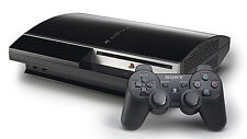Sony PlayStation 3 80 GB Charcoal Black Bundle with Games and 2 controllers