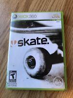 Skate 2 In Skate 1 Case Xbox 360 Cib Game H3