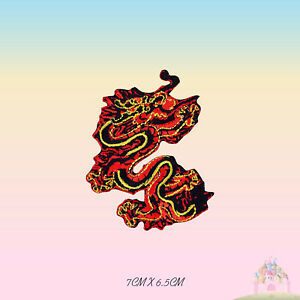 Dragon Chinese Dragon Embroidered Iron On Sew On Patch Badge For Clothes etc