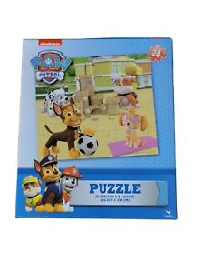 Paw Patrol Puzzle Nickelodeon 24 Pcs 10.3x9.1 Inches