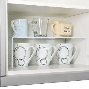 Kitchen Cupboard Storage Shelf. Add a Shelf Cupboard Organiser Pots and Pans