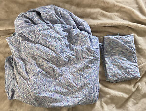 PBTEEN Pottery Barn Teen IVIVVA Fitted Sheet & Pillowcase TWIN XL NO Flat Sheet