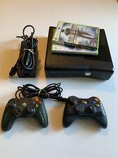 Microsoft Xbox 360 S Slim 4GB Console Bundle XS5
