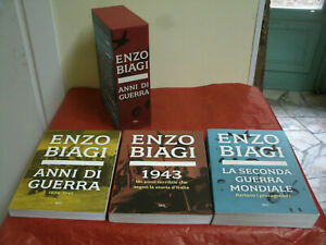 Anni di Guerra-3 Vol.+Box Storia,Analisi,Protagonisti,Foto E.Biagi 1160Pag. 2005