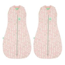 2pk ergoPouch 2.5 Tog Baby Cocoon Organic Swaddle Bag 2-6m Infant Spring Leaves