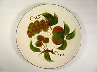 "2 Vintage STANGL ORCHARD SONG 10"" Dinner Plates"