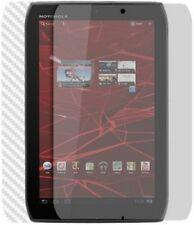 Skinomi Carbon Fiber Silver Skin+Screen Cover for Motorola XOOM 2 Media Edition