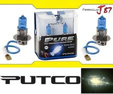 Putco 4400K Nitro Blue H3 230003NB 55W Two Bulbs Fog Light Replace Lamp Halogen