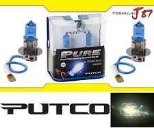 Putco 4400K Nitro Blue H3 230003NB 55W Two Bulbs Fog Light Replacement Lamp Fit