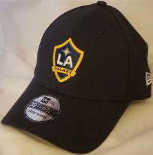 NWT NEW ERA Los Angeles LA GALAXY blue 39THIRTY large-xlarge cap hat MLS soccer