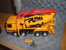 Conrad  Putzmeister PUMI   Betonmischer-Pumpe  DB-Actros-40100 Werbemodell -