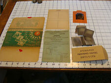 Vintage Paper: AQUAPIX indoor or outdoor 1946, paper as shown BARNUM CIRCUS